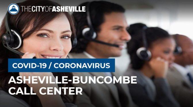 COVID Call Center graphic