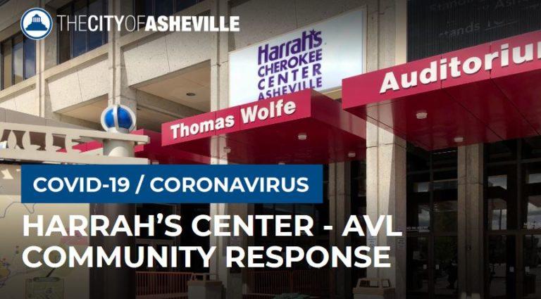 Harrahs Cherokee Center Asheville graphic