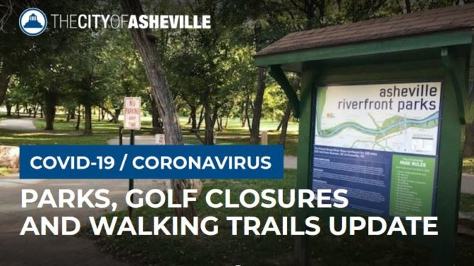 Parks closures graphic