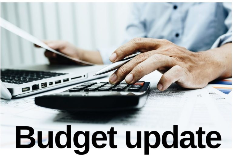 budget update photo illustration