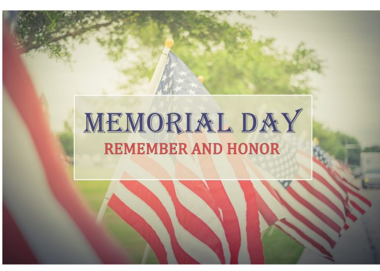 memorial day photo illustration