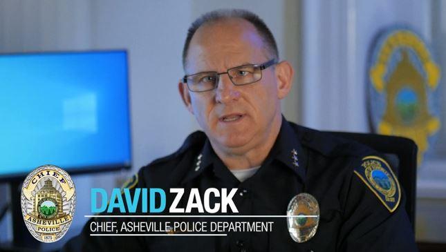 Asheville Police Chief David Zack