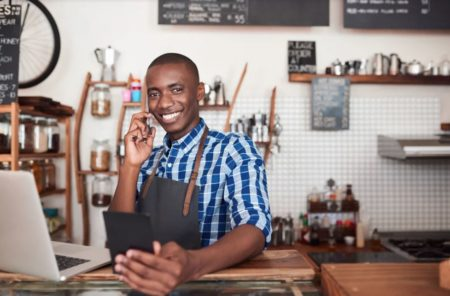Minority business photo illustration