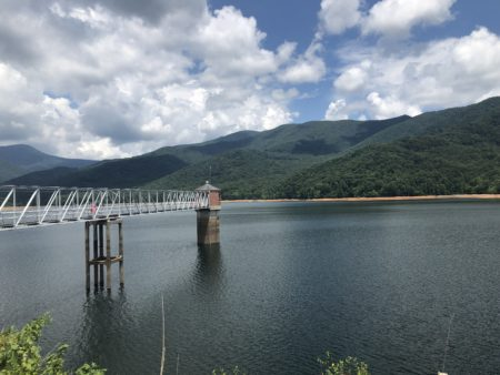 Photo of North Fork Dam reservoir
