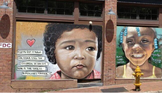 Asheville murals