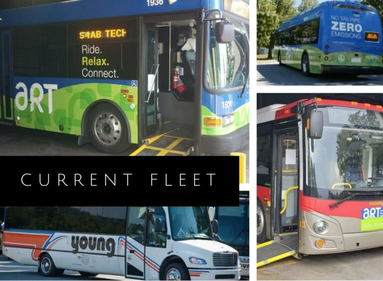 current fleet of buses