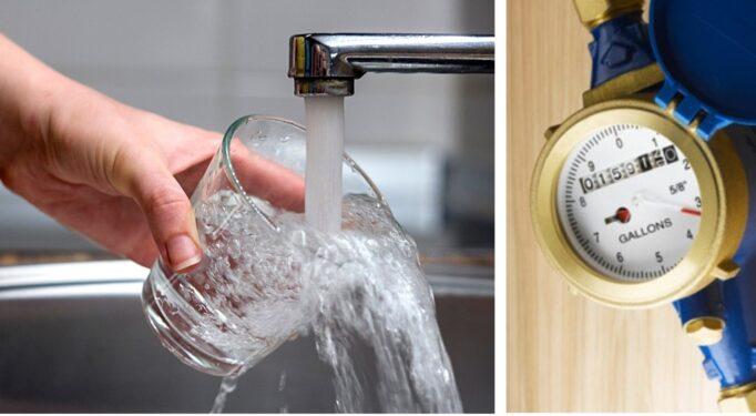 Water meter illustration