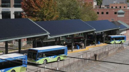 ART Transit Center solar panels