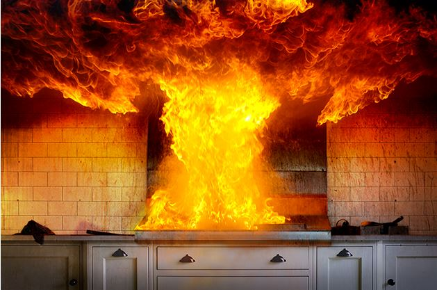 kitchen fire image