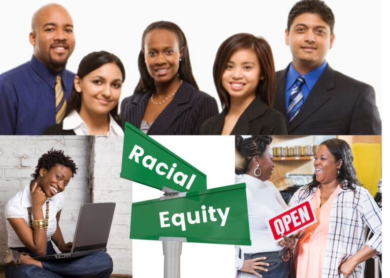 racial equity ilustration