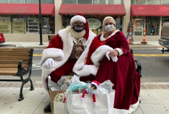 Asheville Santa