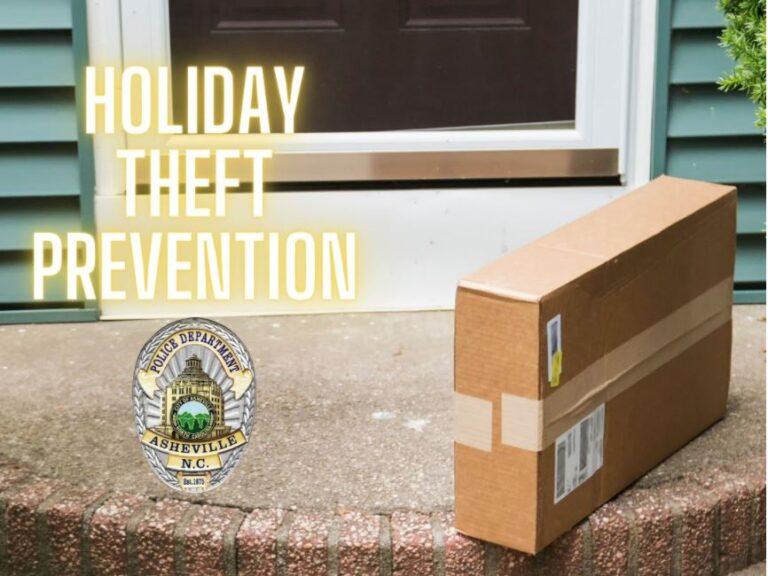 Holiday anti theft photo illustration