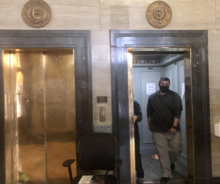 Asheville City Hall elevators
