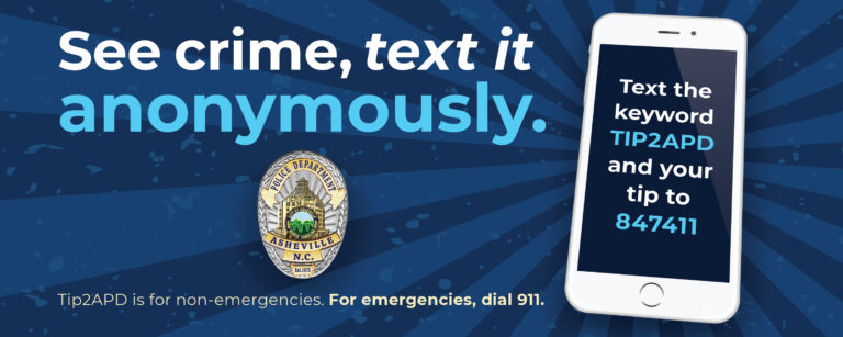 report crime by text using tip2apd