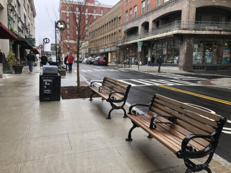 Haywood Streetscape completed