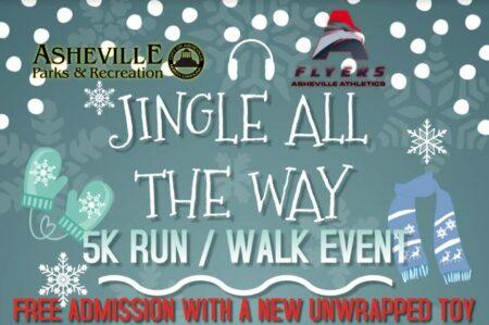 Jingle run poster