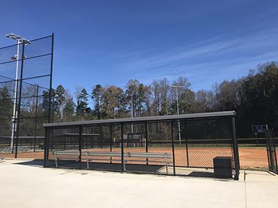 Ray L Kisiah ballfield after renovation