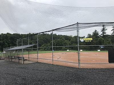 Ray L Kisiah ballfield before construction