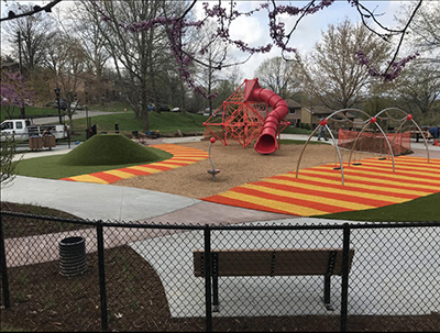 Herb Watts Playground after construction