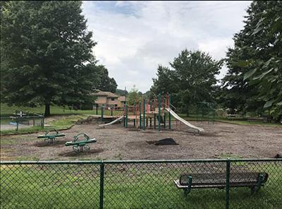 Herb Watts Playground before construction