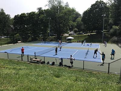 Montford Park Tennis Court