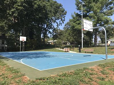 Murphy Oakley Basketball Court