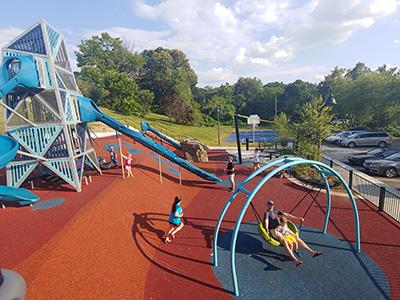 New playground at Tempie Avery