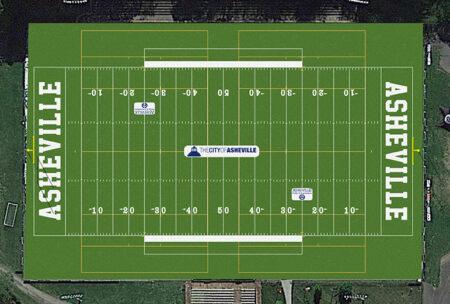 Memorial Stadium field rendering