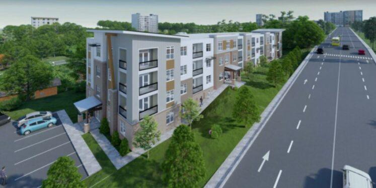 Asheland Avenue proposal rendering