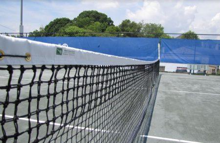 Asheville Aston tennis net
