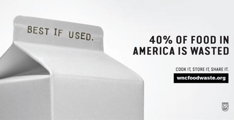 Asheville food waste image