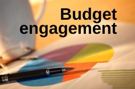 Budget engagement photo illustration