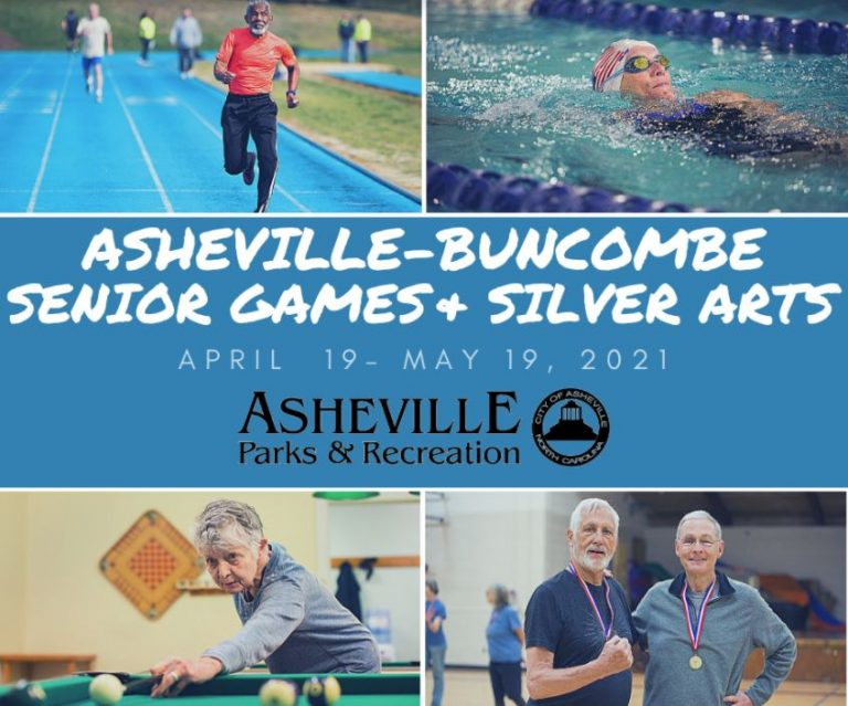 Registration opens for 2021 Asheville-Buncombe Senior Games and Silver Arts Competition
