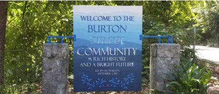 Burton Street sign image
