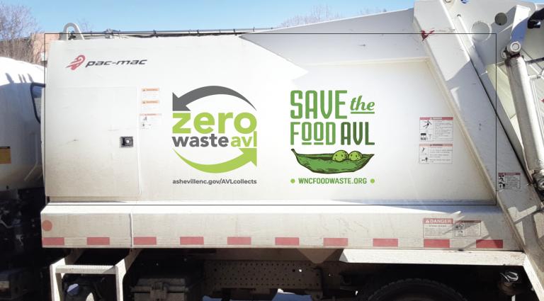 Asheville Sanitation truck