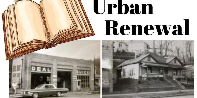 urban renewal storymap illustration