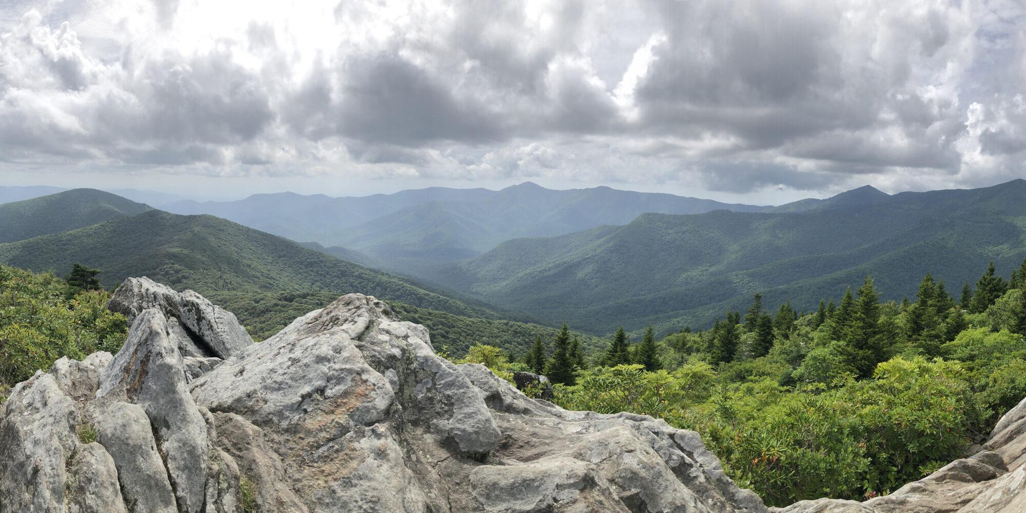 Mt Mitchell Pinnacle Trail Summit