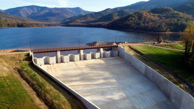 N Fork Dam