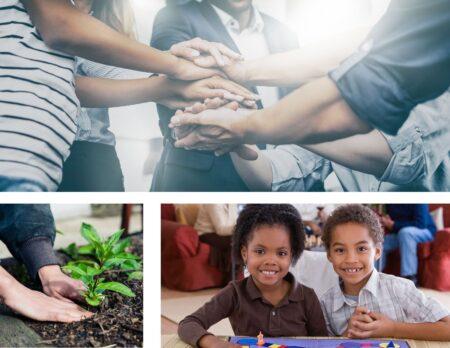 neighborhood grant collage