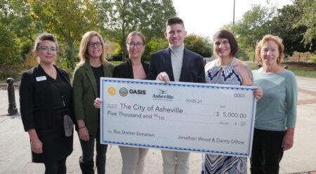 bus shelter donation