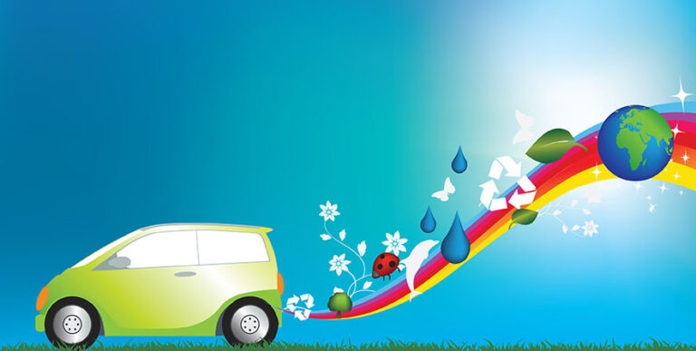 environmentally freindly green car